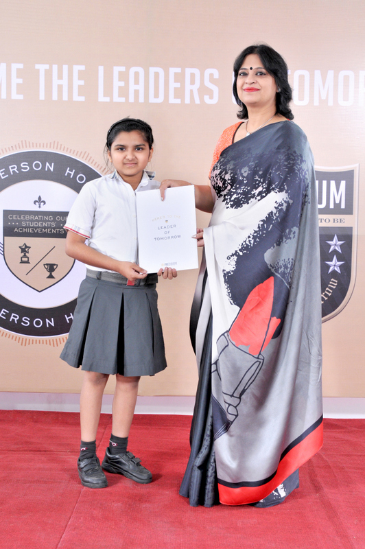 CHAIRPERSON HONOURS, APRIL - 2014-15 | PRESIDIUM SCHOOL GURGAON