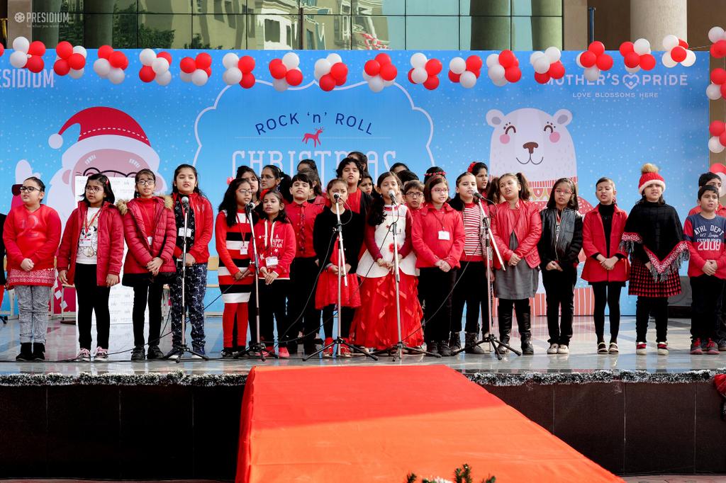 Christmas Carnival Dec 2017 18 Presidium School Gurugram